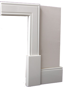 Classic architraves modern architectural and decorative for Modern door casing profiles